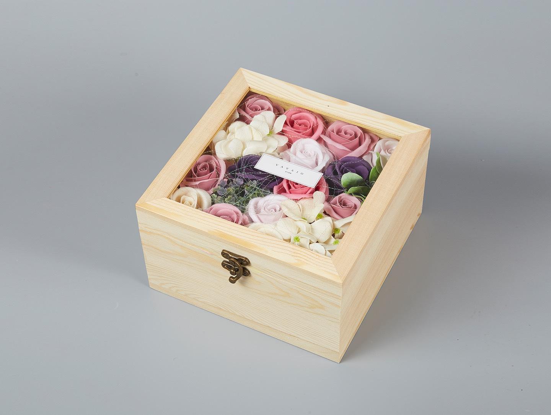 香薰花粉紅玫瑰-b0207
