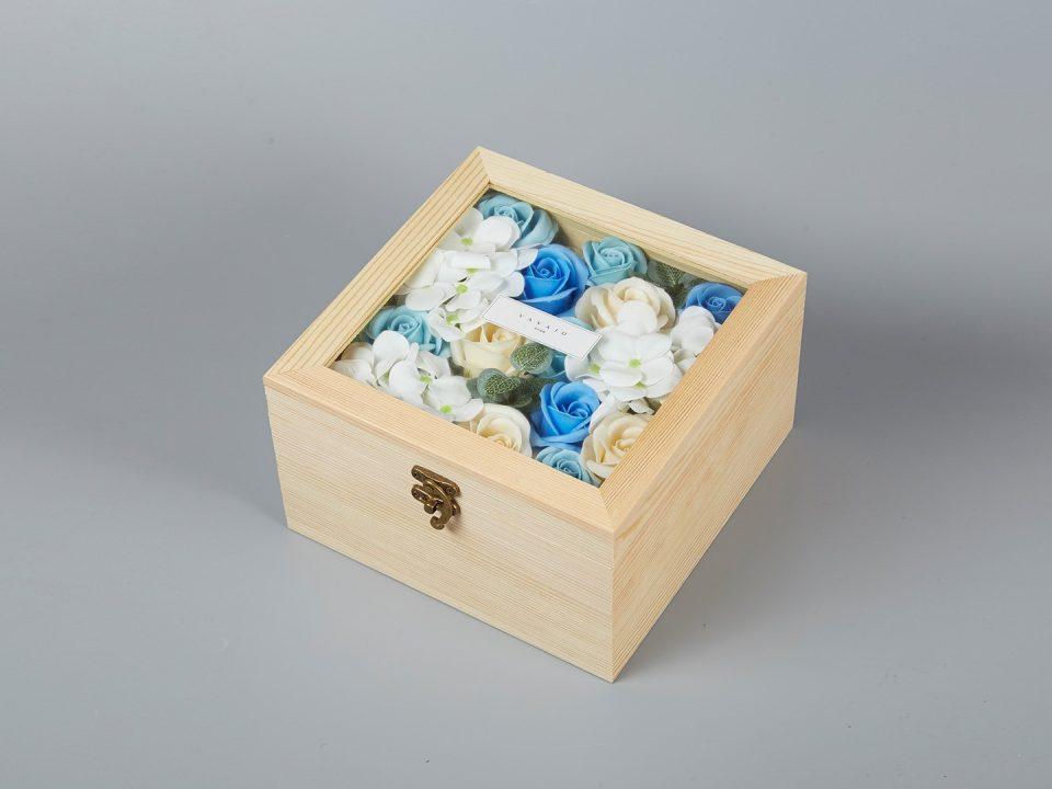 香薰花藍玫瑰-b0409